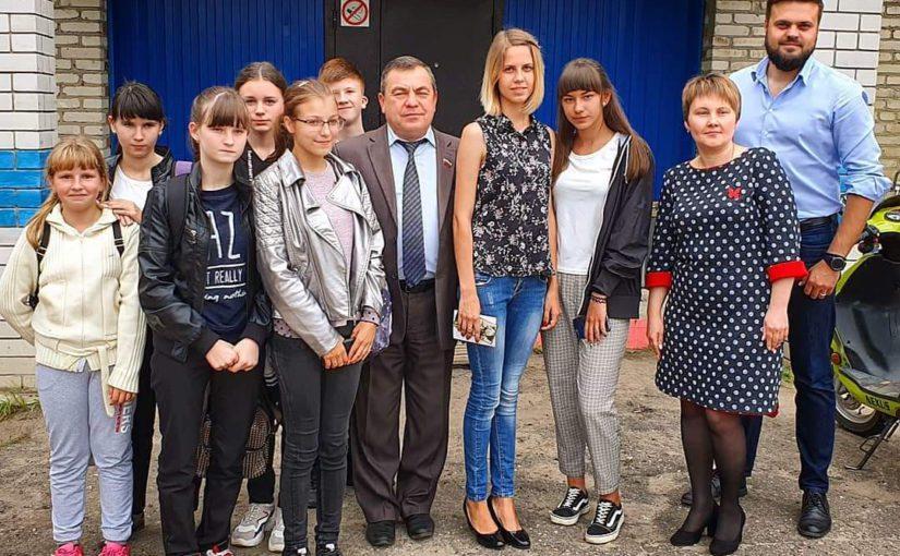 Депутат Госдумы Артём Туров Посетил Ершичский район
