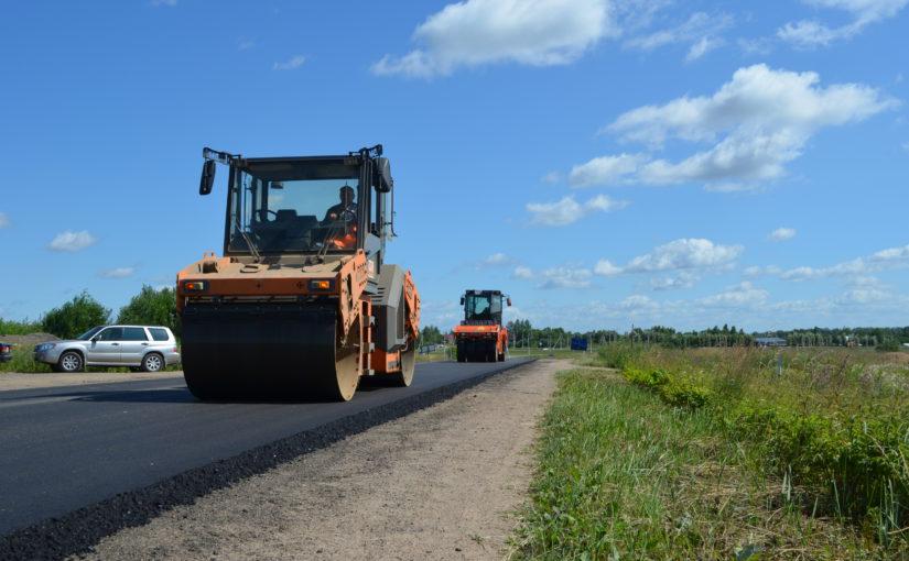 Смоленскавтодор продолжит ремонт Старой Смоленской дороги