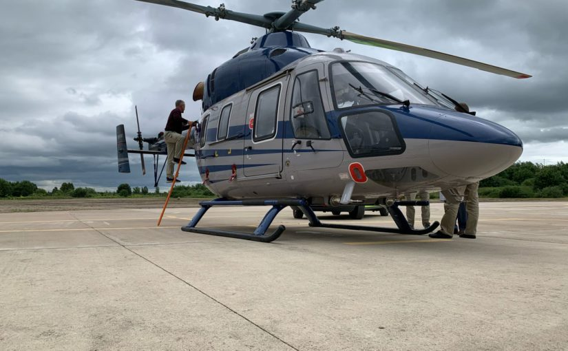 Служба санитарной авиации для спасения смолян