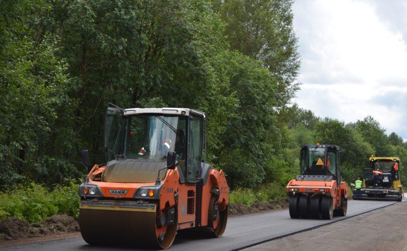 Смоленскавтодор приступил к ремонту Старой Смоленской дороги