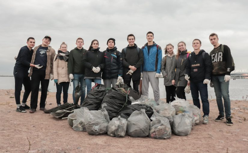 Студенты начнут учебный год с добровольческой акции #экоДобро