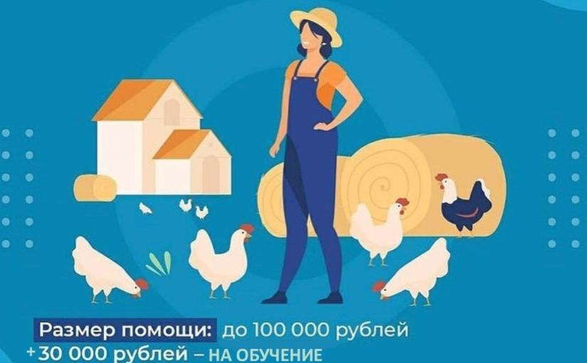 Хочешь стать фермером – оформляй соцконтракт!